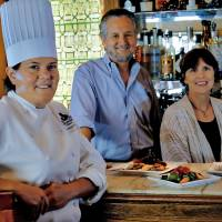 Photo - The Metro Wine Bar and Bistro's new executive chef  Christine Dowd and owners Chris and LaVeryl Lower will offer a special menu on New Year's Eve.  CHRIS LANDSBERGER - CHRIS LANDSBERGER