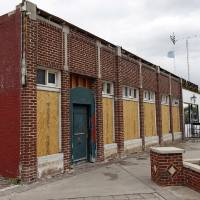 Photo -  An exterior view is seen of 1732 NW 16, the former Blair's Upholstery building, in the Plaza District in Oklahoma City. Photo by Nate Billings, The Oklahoman   NATE BILLINGS -