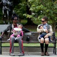 Photo -   In this film image released by Lionsgate, Chris Rock, left, and Tom Lennon are shown in a scene from