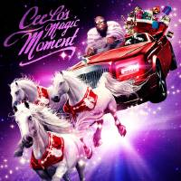 "Photo -   This CD cover image released by Atlantic Records shows CeeLo Green's holiday release, ""CeeLo's Magic Moment."" (AP Photo/Atlantic Records)"