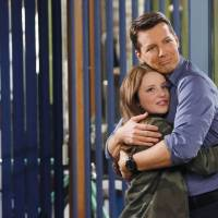 Photo - This publicity image released by NBC shows Samantha Isler as Ellie, left, and Sean Hayes as Sean in