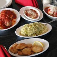 Photo - The menu at Isle of Capri in Krebs revolves around pasta.  DAVE CATHEY - THE OKLAHOMAN