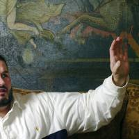 Photo - Bryan Abrams, formerly of the Oklahoma City-based pop band Color Me Badd, talks to The Oklahoman about his struggles since his childhood at his southwest Oklahoma City home on Monday, November 6, 2006. By Michael Downes, The Oklahoman ORG XMIT: KOD