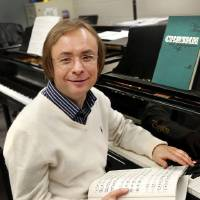Photo - Valery Kuleshov, a world-class Russian pianist, has found a new home in Edmond. Photo by Jim Beckel, The Oklahoman  Jim Beckel - THE OKLAHOMAN