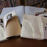 Photo - Ripped copies of Anne Frank's