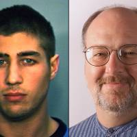 Photo - FILE - In this combination of undated file photos is Ryan Ferguson, left, and Kent Heitholt, right. The Missouri attorney general said Tuesday, Nov. 12, 2013 that he won't seek to retry Ferguson whose murder conviction and 40-year prison sentence in the slaying of Heithold, a newspaper sports editor, were recently overturned. The decision means that Ryan Ferguson could be released from prison soon. (AP Photo/File)