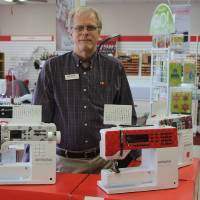 Family business going strong at 45 thanks to Swiss sewing machine