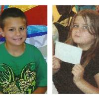 Photo -   This combination of undated photos provided by the Tennessee Bureau of Investigation shows Gage Daniel, 7, left, and Chloie Leverette, 9. The two children, initially believed to have perished in a Tennessee farmhouse fire along with their step-grandparents, are now considered missing and in danger, investigators said on Wednesday, Sept. 26, 2012. The Tennessee Bureau of Investigation said the remains of Leverette and Daniel were not found and the agency issued an endangered child alert for them on Wednesday afternoon. Investigators said neighbors last saw the children Sunday evening, Sept. 23, 2012, hours before a fire destroyed the home in Bedford County about a half-hour from Nashville. (AP Photo/Tennessee Bureau of Investigation)