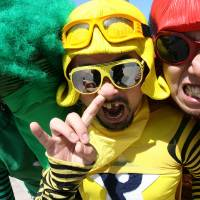 Photo - New York-based Japanese rockers Peelander-Z. PHOTO PROVIDED