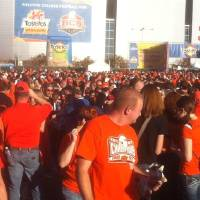 Photo - OSU Fiesta Bowl block party. Photo by Bryan Painter, The Oklahoman