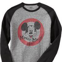 Photo -  Men's Mickey long-sleeve T-shirt at Old Navy.