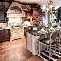 Photo - The kitchen in the traditional home at 1401 NW 158 has a traditional island/eating area.  PAUL HELLSTERN - The Oklahoman