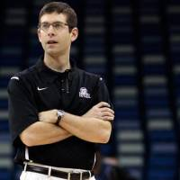 Photo - Butler head coach Brad Stevens watches his players during a practice session for their NCAA Southeast regional college basketball semifinal game Wednesday, March 23, 2011, in New Orleans. Butler plays Wisconsin on Thursday, March 24. (AP Photo/Gerald Herbert)