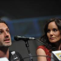 Photo -   COMMERCIAL IMAGE - Andrew Lincoln and Sarah Wayne Callies at AMC's