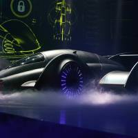 "Photo - Fans can get a closer look at the Batmobile from ""Batman Live"" at Science Museum Oklahoma.  Photo provided"