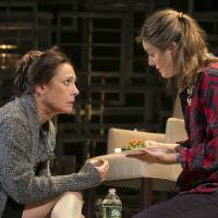 Photo - This undated theater image released by Boneau/Bryan-Brown shows actress Laurie Metcalf, left, and Zoe Perry during a performance of