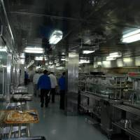 Photo - The galley. (Photo from Happy Frazier)