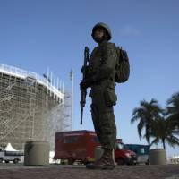 After attacks in Europe, security fears rise in Rio