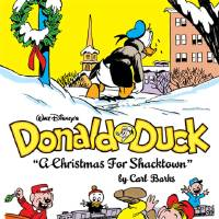 "Photo - Left: The story ""A Christmas for Shacktown"" was originally published in 1951. Fantagraphics Books Image"