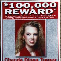 Photo - A reward poster for information on the death of Chanda Turner is on display at her parents' home in Elmore City. Photo by Steve Sisney, The Oklahoman  STEVE SISNEY - THE OKLAHOMAN