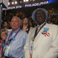 Delegates mark milestones during Democratic convention roll call