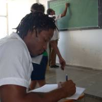 Photo - Former OU linebacker Pasha Jackson is working on becoming a doctor at the Latin American School of Medicine in Havana, Cuba. Photo provided ORG XMIT: 0906212205251653