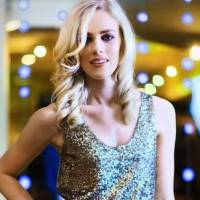 Photo -  Model Emily wears an Elie Tahari sequin tank, from CK & Co. Makeup by Lilly Stone, Sooo Lilly Cosmetics. Photo by Chris Landsberger, The Oklahoman