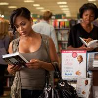 Photo -   In this film image released by Sony Pictures - Screen Gems, Meagan Good is shown in a scene from