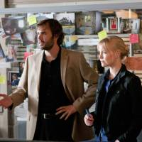 """Photo -  Rossif Sutherland and Laura Harris in """"An Officer and a Murderer"""" - Lifetime Photo"""