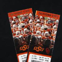 Photo - UNIVERSITY OF OKLAHOMA / OKLAHOMA STATE UNIVERSITY / OU / OSU: Tickets to the Bedlam college football game in Stillwater Nov. 29. Monday, Nov. 24, 2008. BY DOUG HOKE, THE OKLAHOMAN. ORG XMIT: KOD