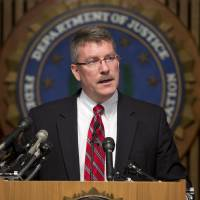 Photo - Ron Hosko, assistant director of the FBI's Criminal Investigative Division, speaks during a news conference at FBI headquarters in Washington, Monday, July 29, 2013, about