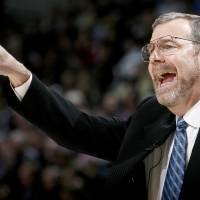 Photo -  Oklahoma City coach P.J. Carlesimo shouts during the NBA basketball game between the Oklahoma City Thunder and the New Orleans Hornets at the Ford Center in Oklahoma City on Friday, Nov. 21, 2008. .  BY BRYAN TERRY, THE OKLAHOMAN