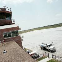 Photo - The air traffic control tower at Norman's Max Westheimer Airport is one of six control towers in the state the Federal Aviation Administration plans to close because of sequestration. Oklahoman Archives Photo