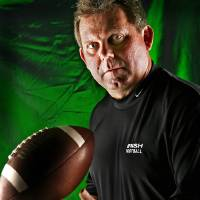Photo - Coach Kenny Young, All-State High School Football shot in the OPUBCO Studio on Monday, Dec. 11, 2006, in Oklahoma City, Okla.     by Chris Landsberger, The Oklahoman  ORG XMIT: KOD