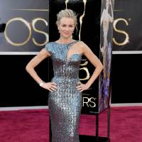 Photo - Naomi Watts in Armani Prive arrives at the Oscars at the Dolby Theatre on Sunday Feb. 24, 2013, in Los Angeles. (Photo by John Shearer/Invision/AP)  John Shearer