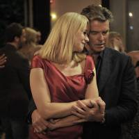 Photo - This publicity photo released by courtesy Sony Pictures Classics shows Trine Dyrholm as Ida, left, and Pierce Brosnan as Philip, in the film,