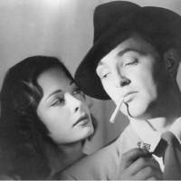 Photo -  Robert Mitchum and Jane Greer, 'Out of the Past'