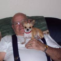 Photo - PET TALES: Earl Adams and his dog Baby.ORG XMIT: 0903181554176648