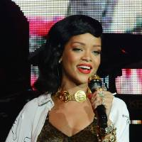 Photo -   Rihanna performs her London 777 tour gig at the Kentish Town Forum on Monday, Nov. 19, 2012, in London. (Photo by Jon Furniss/Invision/AP)