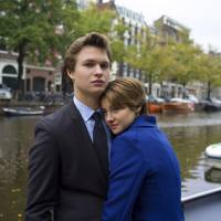 Photo - This image released by 20th Century Fox shows Ansel Elgort, left, and Shailene Woodley appear in a scene from