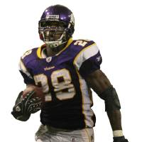 Photo - NFL FOOTBALL PLAYER: JERRY HOLT ¥jgholt@startriubne.com 9/9/2007-----Vikings Adrian Peterson breaks away for a  60 yard touch down in the 4th period, against Atlanta. Minnesota beat Atlanta 24-3 at the dome. ORG XMIT: 0906272150442969