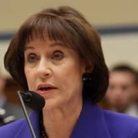 Photo - FILE - This March 5, 2014 file photo shows former Internal Revenue Service (IRS) official Lois Lerner speaks on Capitol Hill in Washington. The Internal Revenue Service has lost more emails connected to the tea party investigation, congressional investigators said Tuesday. The IRS said last Friday it had lost an untold number of emails when Lois Lerner's computer crashed in 2011. Lerner used to head the division that handles applications for tax-exempt status.  (AP Photo/Lauren Victoria Burke, File)