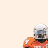 Photo - KENDALL HUNTER / GRAPHIC / ILLUSTRATION with photos, from left: 1) COWBOYS /  OKLAHOMA STATE UNIVERSITY, COLLEGE FOOTBALL, OSU: 11/15/1975-Terry Miller sets up a touchdown with this run against Kansas State. Staff photo by J. Pat Carter.       2) COLLEGE FOOTBALL: Oklahoma State University (OSU) running back Thurman Thomas attracted a crowd while gaining 108 yards against Missouri Satruday afternoon, October 26, 1987 in Columbia, Missouri. By Jim Argo/The Daily Oklahoman       3) OKLAHOMA STATE UNIVERSITY / COWBOYS FOOTBALL:  OSU running back Barry Sanders tosses the ball after his NCAA- record setting 30th touchdown. BY PAUL HELLSTERN.        4) OSU: Oklahoma State University running back Kendall Hunter (24) makes a 58-yard touchdown run against Houston during the first half of an NCAA college football game in Stillwater, Okla. at Boone Pickens Stadium Saturday, Sept. 6, 2008. (AP Photo/Brody Schmidt)
