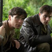 Photo - Cillian Murphy, left, and Padraic Delaney play brothers in