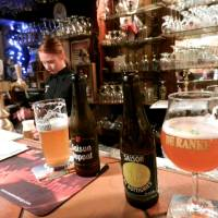 Photo -   In Belgium, the glass you use is meant to highlight a particular beer's qualities. (photo credit: Rick Steves)