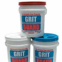 Photo - Grit Guard traps contaminants at the bottom of the pail so your soapy water is kept cleaner and there's less chance of paint damage.