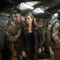 Photo - From left, Christopher Stanley, Jessica Chastain and Alex Corbet Burcher in a scene from the fact-based thriller