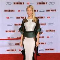 Photo - Actress Gwyneth Paltrow arrives at the world premiere of