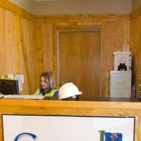 Photo - An office at Google's facility in Pryor in Mayes County. PHOTO PROVIDED