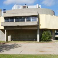 Photo - The Oklahoma City Council has delayed its consideration of a recommendation to list Stage Center, shown in a Tuesday photo, on the National Register of Historic Places.  PAUL B. SOUTHERLAND - The Oklahoman